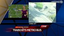BART Bus vs Train Crash in Butler County