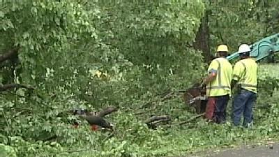 Crews Spend Tuesday Cleaning Up Storm Debris