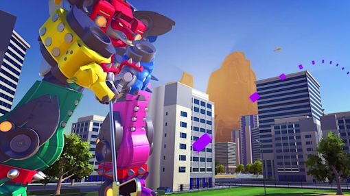 Hit birdies with robots this October in '100ft Robot Golf'