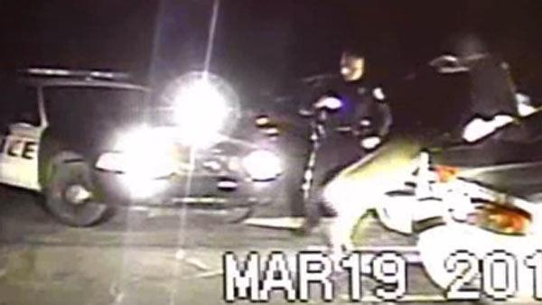 Caught on cam: Deer thought dead jumps out of trunk