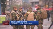 Brussels lowers terror threat level