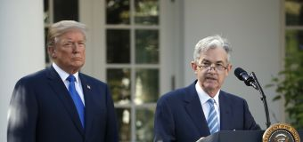 Trump rails against the Fed for a second day