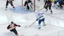 Daniel Sedin scores his 300th career goal