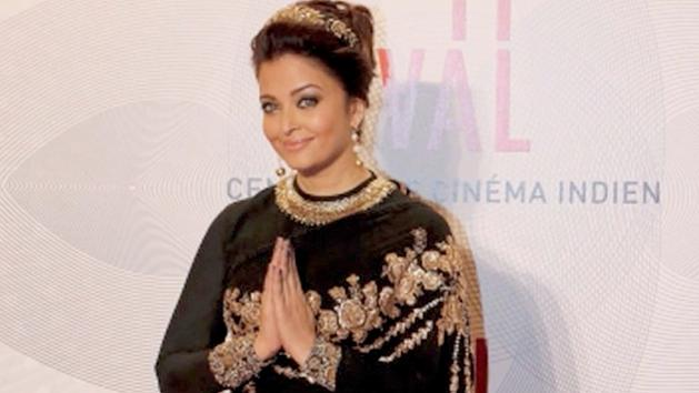 Aishwarya Rai At The Celebration Of 100 Years Of Indian Cinema - Cannes 2013