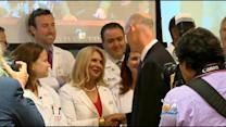 Governor Promotes Cancer Research Funding In Miami