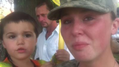 Soldier Shares Sacrifice, Commitment
