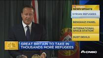 CNBC update: PM Cameron helps migrants