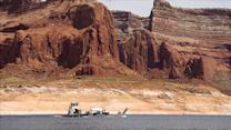 The disappearance of Lake Powell