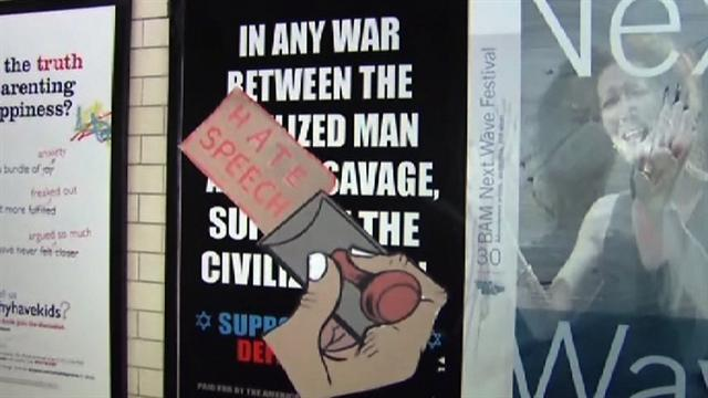 Anti-jihad NYC subway ads spark outrage