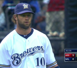Brewers have an error party, committing five in two tragic innings