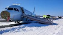 AirCanada Plane Crash Lands in Halifax Injuring 23 Passengers