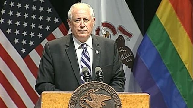 Illinois Gov. Pat Quinn Signs Marriage Equality Into Law