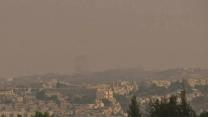 Raw: Sirens Blare Over Jerusalem