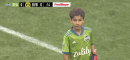 Watch: Eight-year-old with leukaemia starts in goal for Seattle Sounders