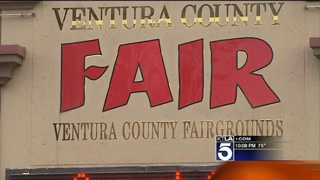 Driver Shot After Striking Officer With Truck Outside Ventura County Fairgrounds, Police Say