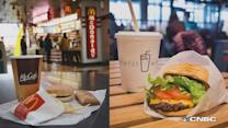 How do McDonald's and Shake Shack burgers stack up?