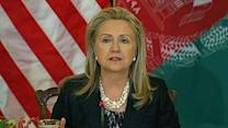 Clinton: Negotiating the next step in Afgan