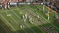 Sam Moeller Blocks Miss State Punt