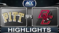 Pittsburgh vs Boston College | 2014 ACC Basketball Highlights
