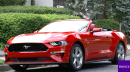2 dudes get loud in the new Ford Mustang convertible