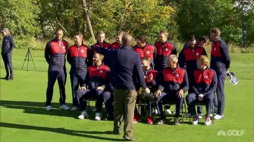 Tiger Woods booted from Ryder Cup team picture