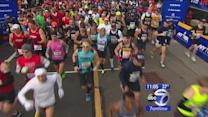 Record number of runners take part in NYC Marathon