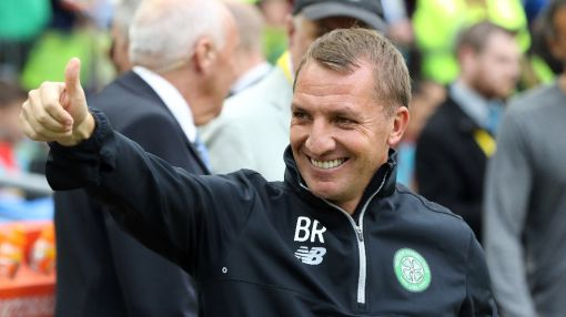 Rodgers hails 'near-on perfect' start with Celtic