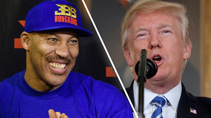 LaVar's comment could spark feud with Trump