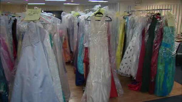 Prom dresses for Hurricane Sandy victims