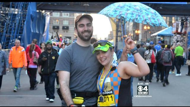 Brother's Umbrella Assist Outshined Sun For Marathoner With Lupus