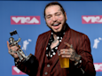 A Gulfstream private jet believed to be carrying rapper Post Malone reportedly blew two tires and is trying to make an emergency landing