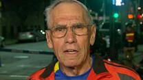 78-year-old marathoner on moment of blast, fall