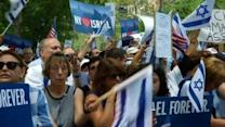 Thousands rally in New York to support Israel