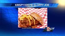 Krispy Kreme Sloppy Joe donut sandwich debuts at fair