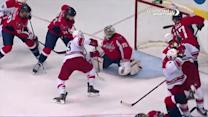 Holtby saves series of shots up close