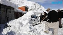 Afghan Avalanche Death Toll Rises as Rescue Teams Clear Roads to Reach Buried Villages
