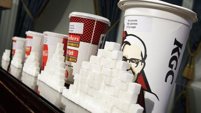 No more super-sized drinks for NYC