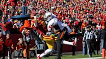 Iowa State - Bundrage Juggling Catch vs Oklahoma State