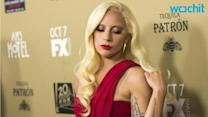 Lady Gaga Dons Blood Red for 'AHS: Hotel' Red Carpet Premiere
