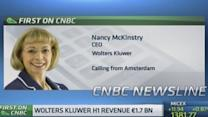 'Cautiously optimistic' on Europe: Wolters Kluwer CEO