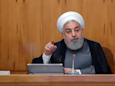 Iran's president said they would hold talks with the US if it returns to the 2015 nuclear deal