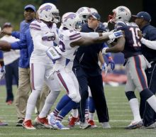 Bills say if Patriots run through their pregame drills again there will be another fight