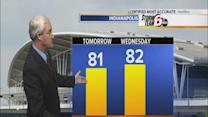 Temps jump this week
