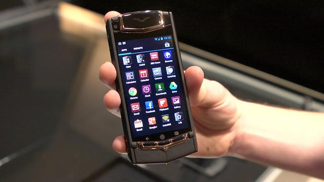Vertu Ti, the $9,600 Android phone, gets the First Look treatment