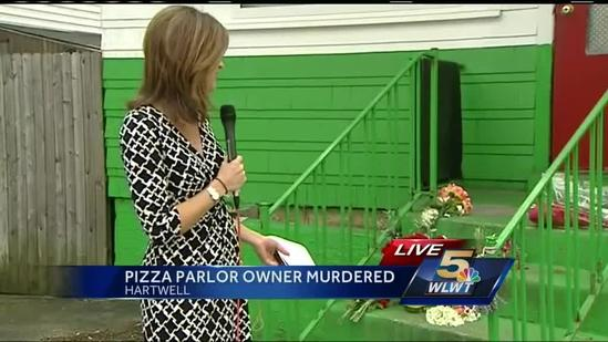 Clues sought in pizza parlor owner's slaying