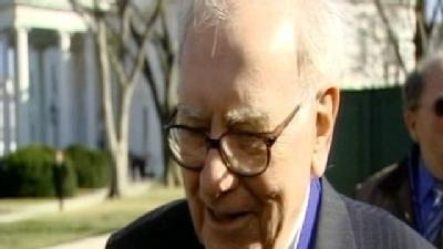 Uncut: Buffett Talks With Media Outside White House
