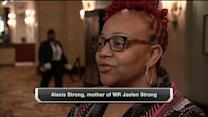 Houston Texans wide receiver Jaelen Strong and Pittsburgh Steelers defensive end Bud Dupree make their moms proud