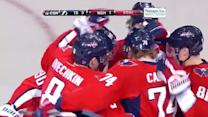 Alex Ovechkin nets a hat trick