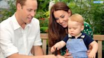 "Prince William And Kate Middleton Thankful For ""Good Wishes"" On Prince George's First Birthday"
