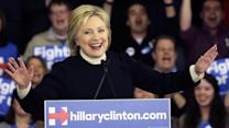 Clinton Falls to Sanders, Vows Push Beyond New Hampshire
